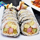 Gimbap Gyeran / Seaweed Rice Roll Egg (SGD $10) @ Three Meals A Day.