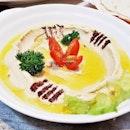 Hummus & Khubz (SGD $11.90) @ Tabbouleh Restaurant.