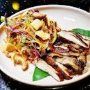 Glazed Soy Sesame Chicken Salad (SGD $12) @ The Sampan.