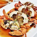 Steamed Crab With Chinese Rice Wine (SGD $49.90 for 3 crabs) @ Diamond Kitchen.