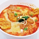 Pork Chop Curry Noodles Soup (SGD $10.50) @ Wan Chai Hong Kong Tea Room.