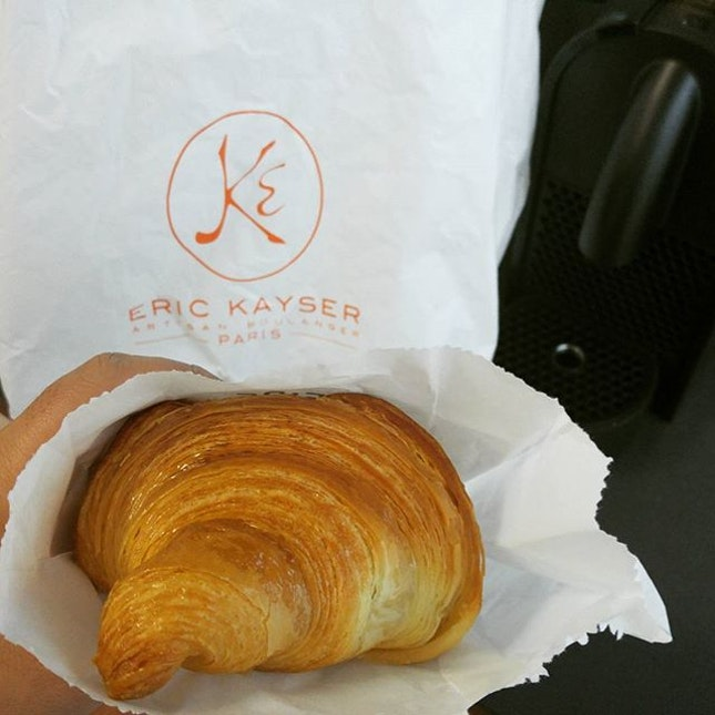 Croisasant by Eric Kayser at @maisonkaysersingapore .