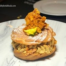 Paris Brest ($18) has a nice crispy pastry, filled with delectable hazelnut cream.