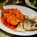 Deep-fried Seabass in Sweet & Sour Sauce. A superbly fried seabass.