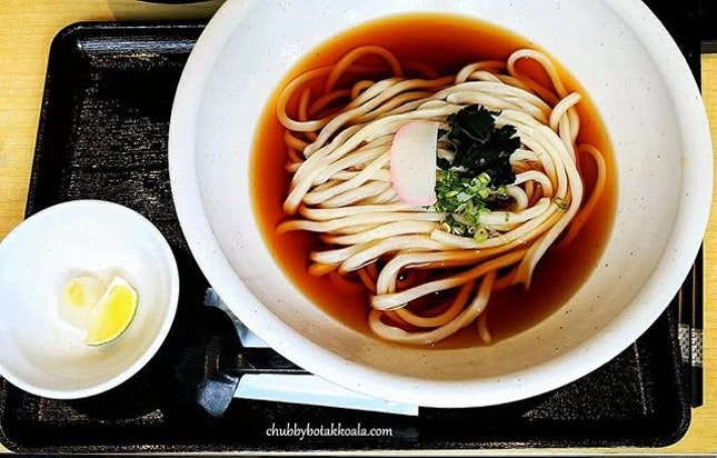 We visited Udon Kamon for a quick lunch.