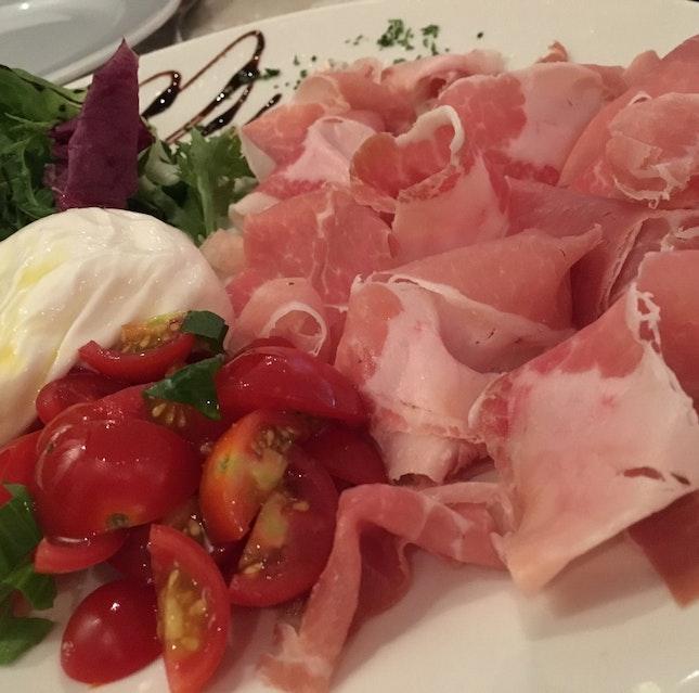 Burrata e Prosciutto di Parma 30-Mesi