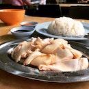 Steamed Chicken Rice • $3.80