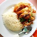 Ginger Fried Chicken Rice • $3.50