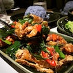 Stir-fried Soft Shell Crab with Basil Sauce • S$16.90++