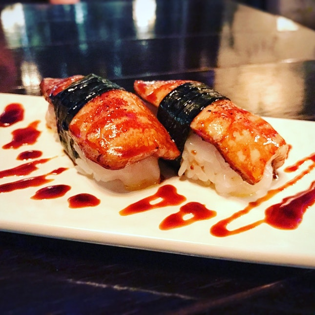 Foie Gras And Scallop Sushi • S$24++ For 2 Pcs