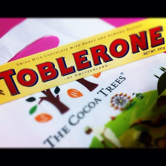 toblerone from my sweet princess