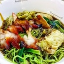 Char Siew and Shrimp Dumpling Jade Noodle (S$7.10) from You Men H.K.
