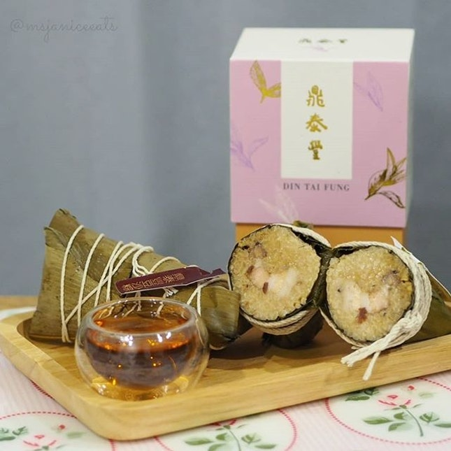 ⭐ Din Tai Fung 鼎泰豐 ~ Taiwanese Rice Dumplings and Aged Puer Tea ⭐  Celebrate Dragon Boat Festival with Din Tai Fung's delectable Taiwanese Rice Dumplings and premium Aged Puer Tea.