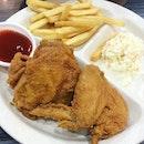 Chicken lunch @ Arnold before movie!