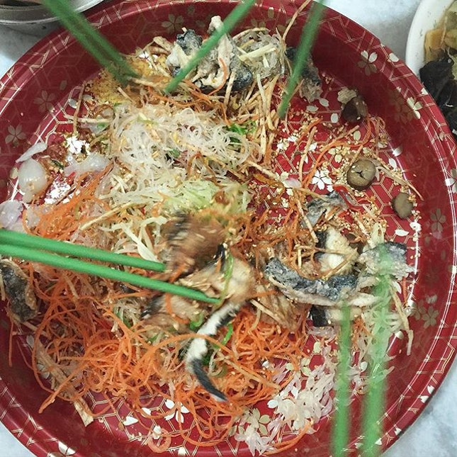 I love to toss yusheng!
