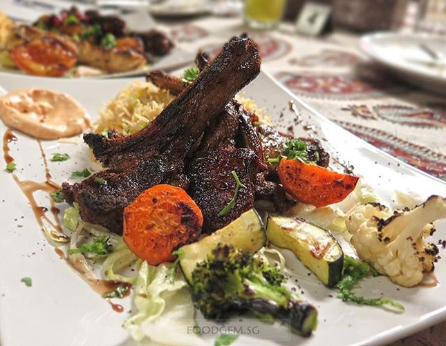 Was my first time to experience Lebanese food and I'm impressed, especially the lamp chops.