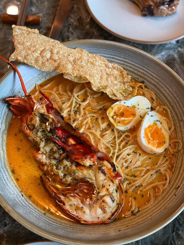 Boston Lobster Coconut Laksa