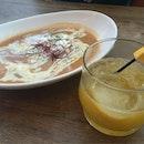Lobster Bisque And Citrus Soju Cocktail