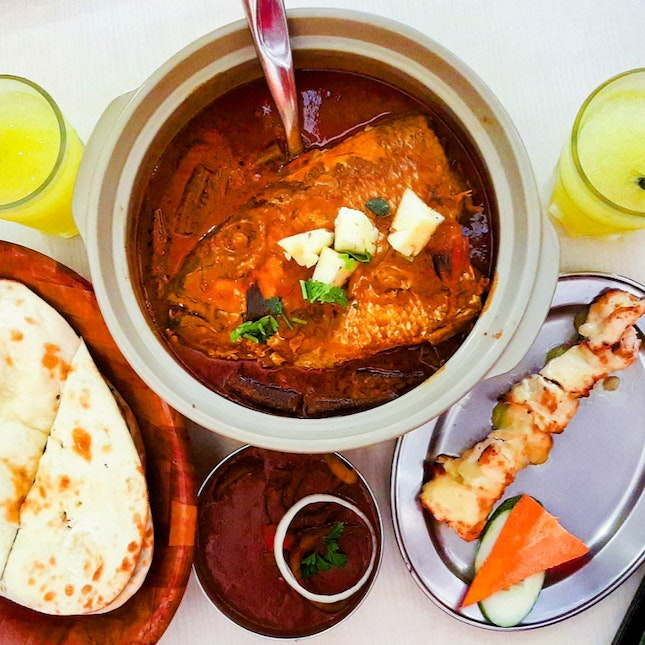 Curry Fish Head ($32/Large)