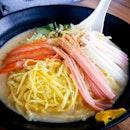 Hiyashi Chuka with Sesame Sauce ($12.80)