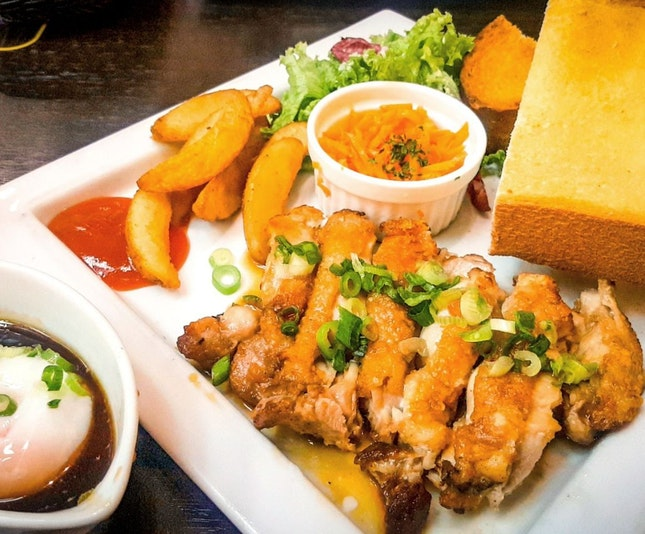 Teriyaki Chicken Steak ($17.80)