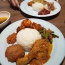 Rendang Chicken Plate