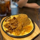 Volcano Pork Fried Rice 🍛