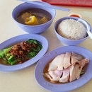 Chicken Drumstick Rice Set ($6); They really spend alot of effort on their soup!