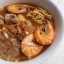 Penang Prawn Noodles at Bukit Batok; I'm impressed with this wonderful bowl of goodness.