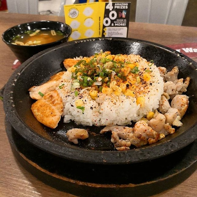 Visited pepper lunch today, as I'm craving for something hot and yummy.