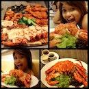 "ॐ dinner ; ""...i think im full😩..."" #badoksession #mfmsingapore #burpple"