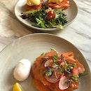 Salmon Egg Benedicts