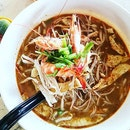 I will go all the way out whenever I'm craving for sarawak laksa...😍😍 Portion is quite big for small bowl, soup base is thick & tasty, prawns are well presented & fresh...