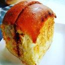 The famous soft Kaya bun ...