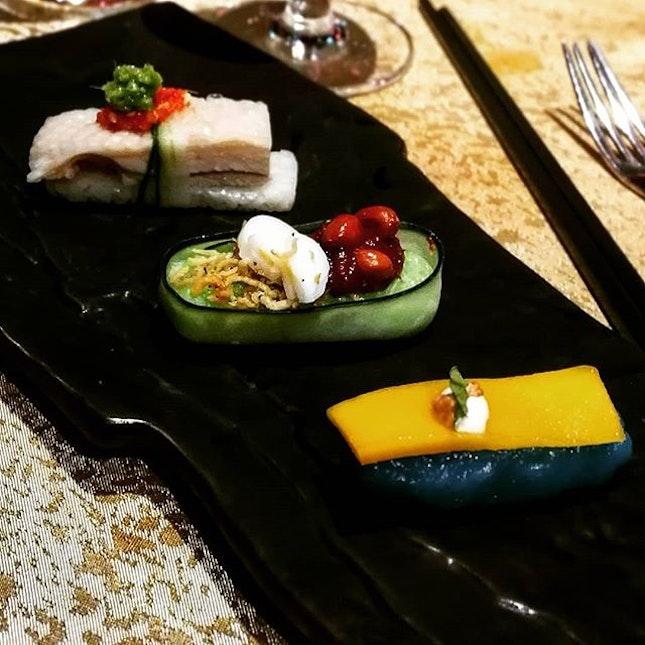 Local delights on sushi plate 😍😍😍 #ruyiandlyn #sushiplate #localdelights #burpplekl #burpple #bangsarshoppingcentre