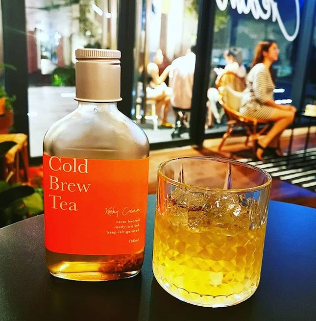 A Moment for Tea  Cold brew lavender osmanthus (RM12)  #coldbrew #teamoment #lavenderosmanthus #burpplekl #burpple #kookycream #ss2 #softlaunch