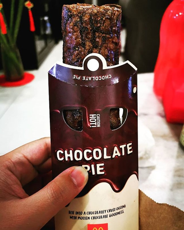 Satisfy your chocolate cravings with the irresistible Chocolate Pie!