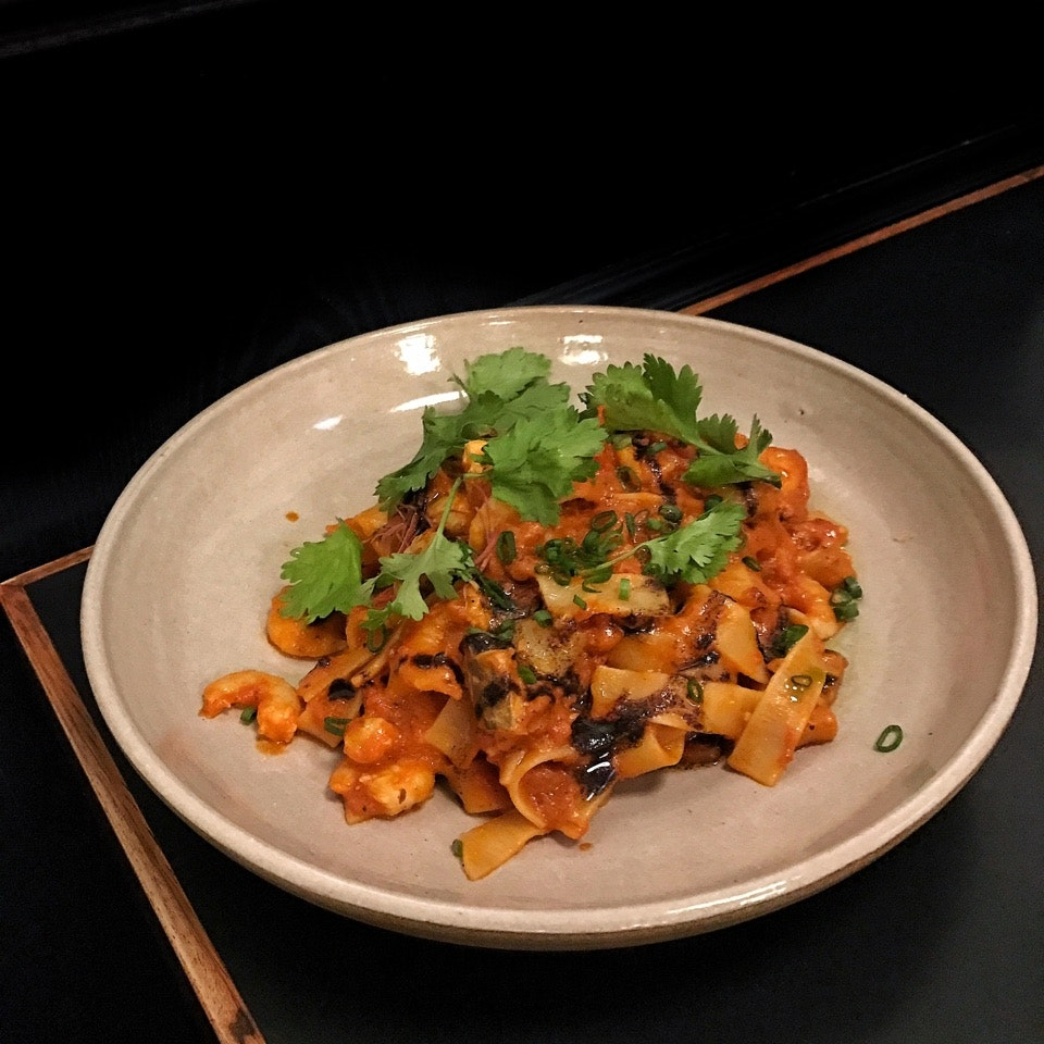 SPICY CHILLI SEAFOOD PASTA