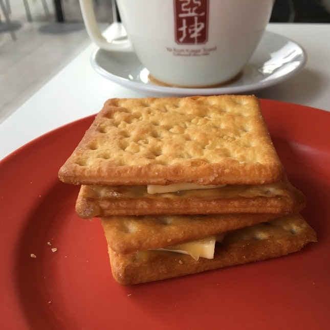 Kaya Butter Crackers / 2bucks