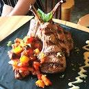 Tendering Lamb Chop~ #lamb #lambchop #latergram #throwback #food #foodstagram #foodporn #igsg #sgfoodie #sgfood #burpple #burpplesg #hollandvillage #caligrillandbar #lorongmambong #linefoodie #foodie