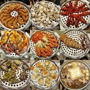 9tier Seafood Tower with Ginseng Chicken Soup!