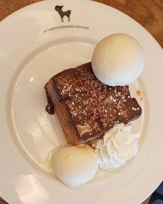 Shibuya Nutella Toast w/ vanilla ice cream!