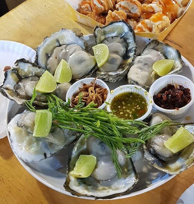 Fatty & fresh oysters!