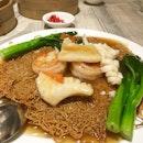 Crispy Seafood Noodles
