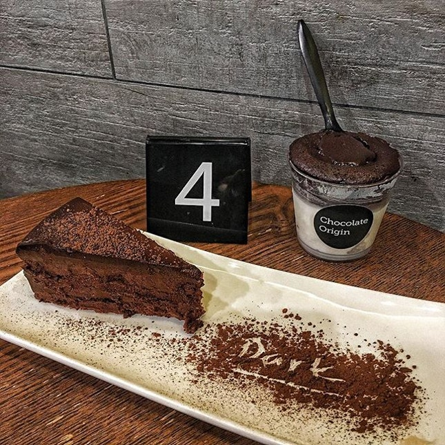 One of my favourite lava cake @chocolateorigin .