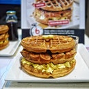 Do you think you with your buddy can swallow this Waffles Stackers within 6 minutes?