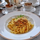 Set lunch @angelinasingapore Angelina Singapore at only $13.80++ which comes with a starter, main course and choice of mini hot chocolate, coffee or tea.