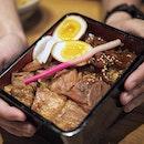 Tampopo Kurobuta Pork Rice Combo .