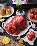 Prosperous Piglet Nian Gao (年糕) ($128.88 nett) from @peonyjadesg .