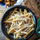 Brunch @paddyhills.sg, Truffle Garlic Fries ($15.00++) .